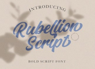 Rubelion Font