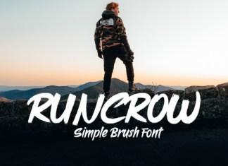Runcrow  Font