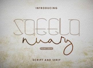 Saeela Nuary Font
