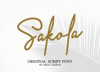 Sakola Font