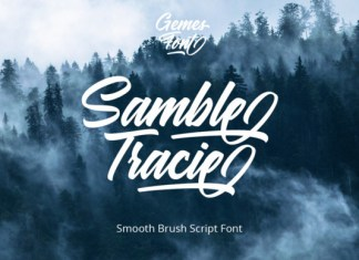Samble Tracie Font