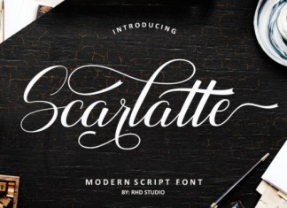 Scarlate  Font