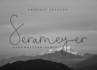 Serameyer Font