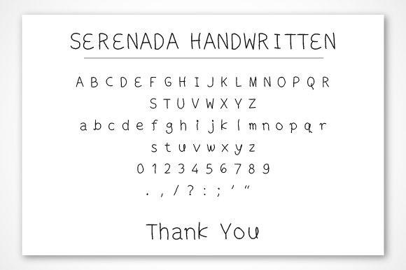 Serenada Font