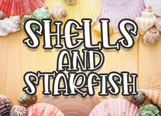 Shells and Starfish Font