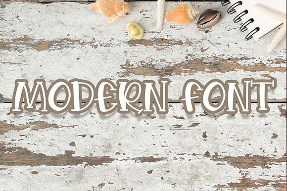 Shells and Starfish Font