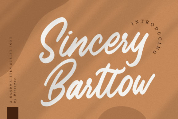 Sincery Bartlow Font