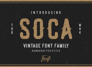Soca Font
