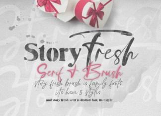 Story Fresh Font