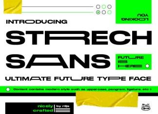 Strretch Font