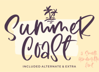 Summer Coast Font
