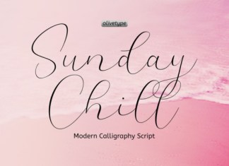 Sunday Chill Font