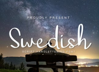 Swedish Font