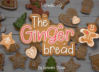 The Gingerbread Font