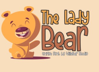 The Lady Bear Font