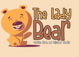 The Lady Bear Font