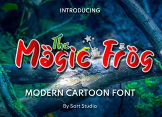 The Magic Frog Font