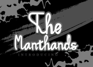 The Manthands Font