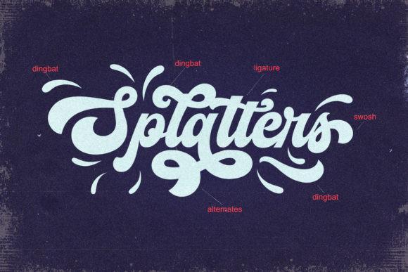 The Vignettic Font