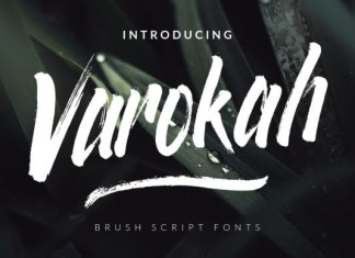Varokah  Font