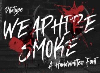 Weaphire Smoke Font