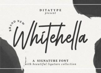 Whitehella Font