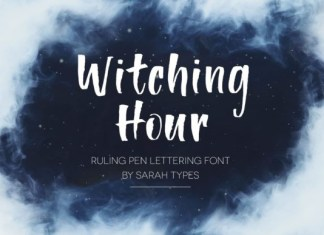 Witching Hour Font