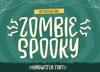 Zombie Spooky Font