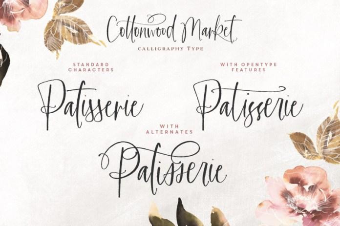 Cottonwood Market Font