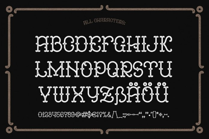Anise Seeds Font