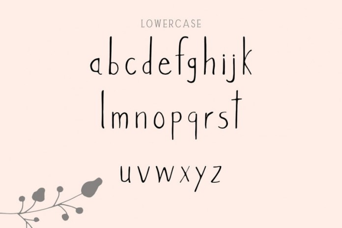 Versova Handmade Font