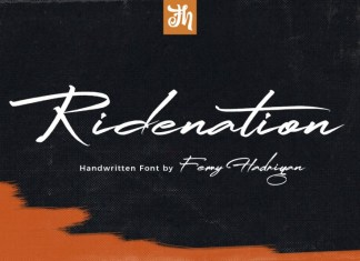 Ridenation Font