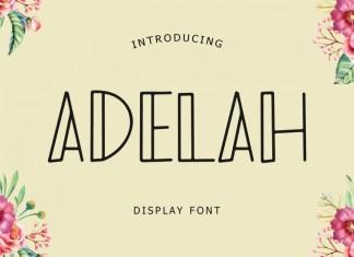 Adelah Font