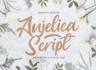 Anjelica Script Font