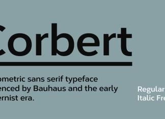 Corbert Wide Font