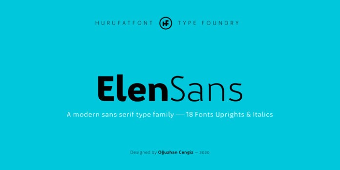 Elen Sans Font