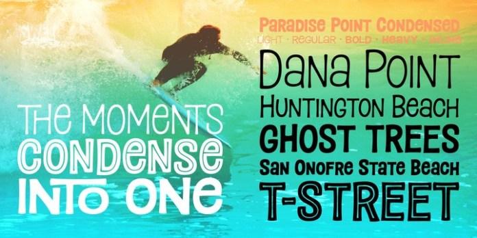 Paradise Point Font