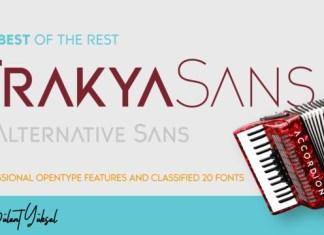Trakya Sans Font