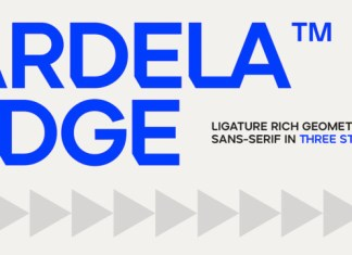 ARDELA EDGE Font