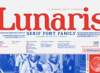 Lunaris Font