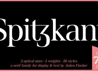 Spitzkant Font