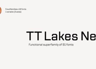 TT Lakes Neue Font