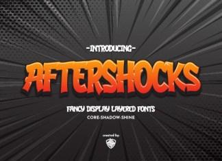 Aftershocks Font