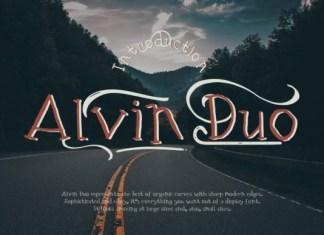 Alvin Duo Font