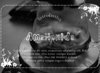 Amalianida Font