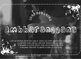 Ambbaranggana Font