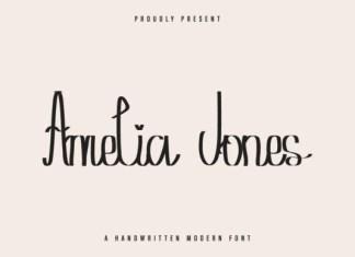 Amelia Jones Font