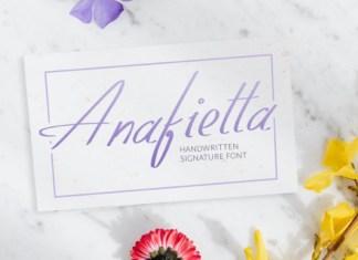 Anafietta Font