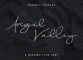 Angel Valley Font