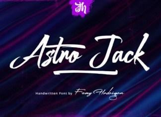 Astro Jack Font